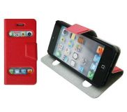 Table Talk Tasche iPhone 5,5S,5SE - red